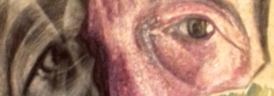 Piero Dosi - autoritratto - particolare