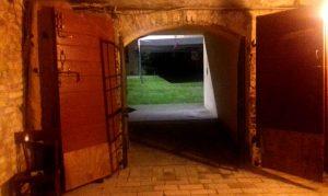 entrata del rifugio antiaereo