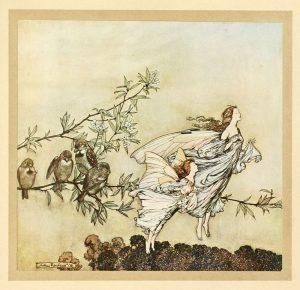 Le fate bisticciano con gli uccellini (PP nei Giardini di Kensington, capitolo due).