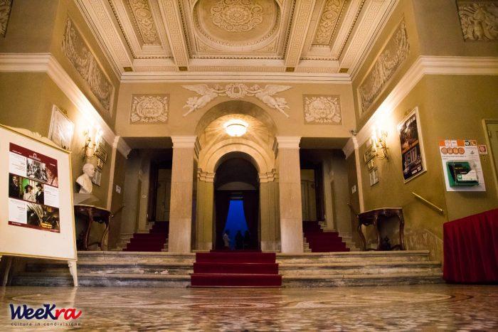 Ingresso del Teatro Alighieri.