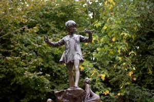 Peter Pan - Statua nei Giardini di Kensington