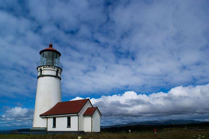 Faro di Capo Blanco, Oregon. Foto di Janina Rabottini.