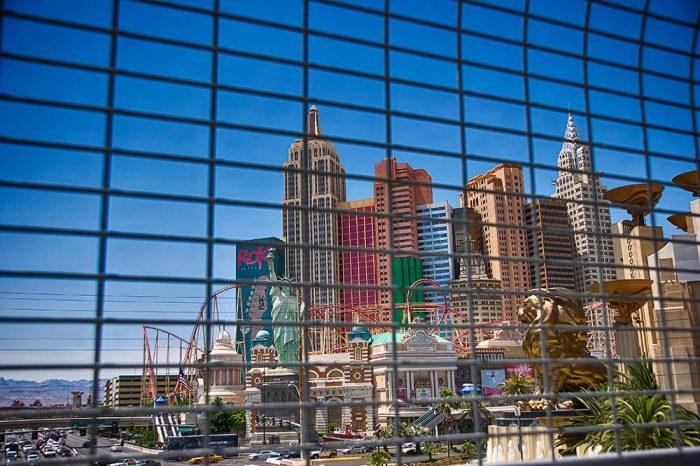 Veduta di Las Vegas, Nevada. Foto di Riccardo Casciello.