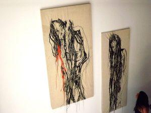 Due opere di Lucia Nanni