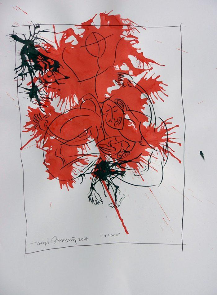 Luigi-Bassetti-tecnica-mista-su-carta