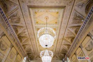 """La Sala Corelli (il """"ridotto"""") del Teatro Alighieri di Ravenna."""