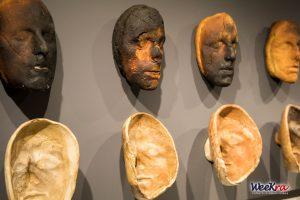 Sculture di pane di Matteo Lucca al MAG. Foto di Roberto Turturro.